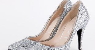 silver glitter heels aquarius - silver glitter thumbnail aquarius - silver glitter thumbnail ... EKVAUHA