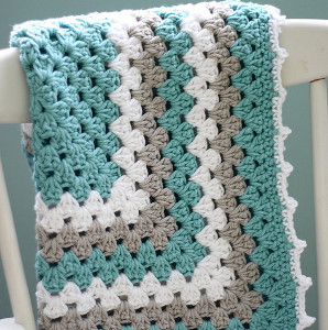 simple crochet baby blanket patterns. sea spray granny baby blanket SPQYORE