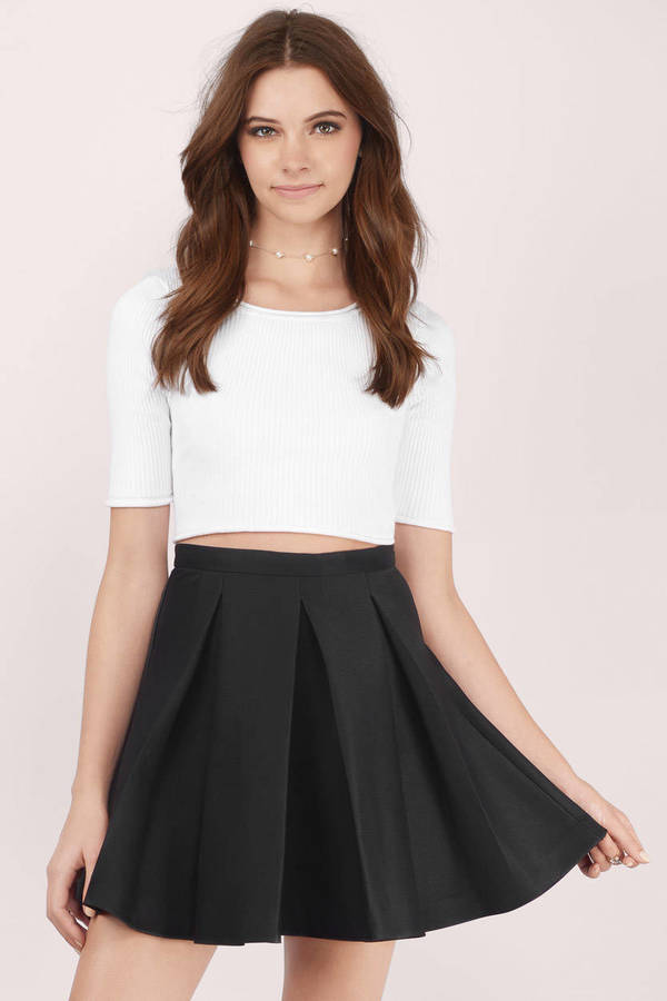 skater skirts cute peach skirt - orange skirt - pleated skirt - peach skirt - $12.00 SLKEFSR