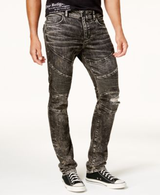 skinny jeans for men true religion menu0027s moto skinny jeans TFCHRZP