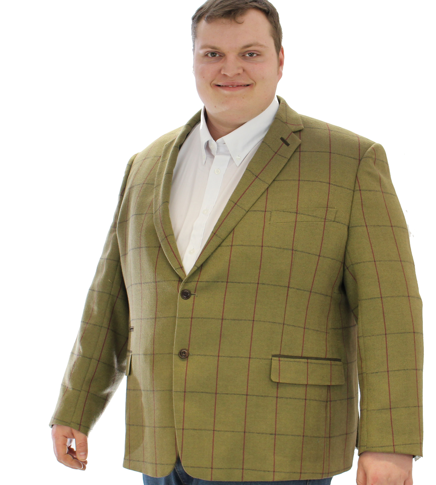 skopes ingleton tweed jacket - green BYUSRXK