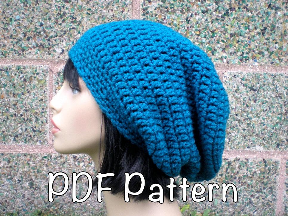 slouchy beanie crochet pattern 🔎zoom AZPUXSR
