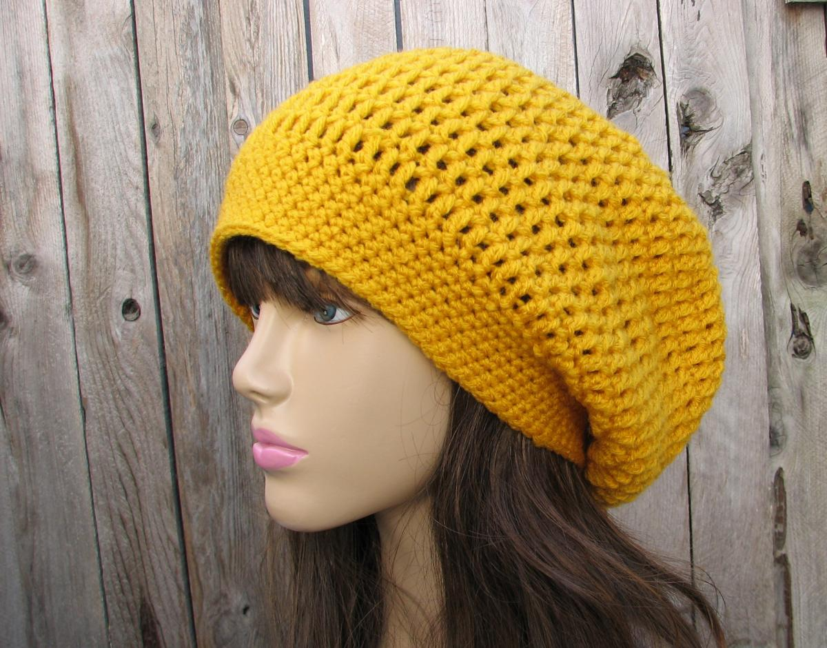slouchy beanie crochet pattern pictures-of-crochet-slouchy-beanie-hat-pattern-crochet- LZYXEDU