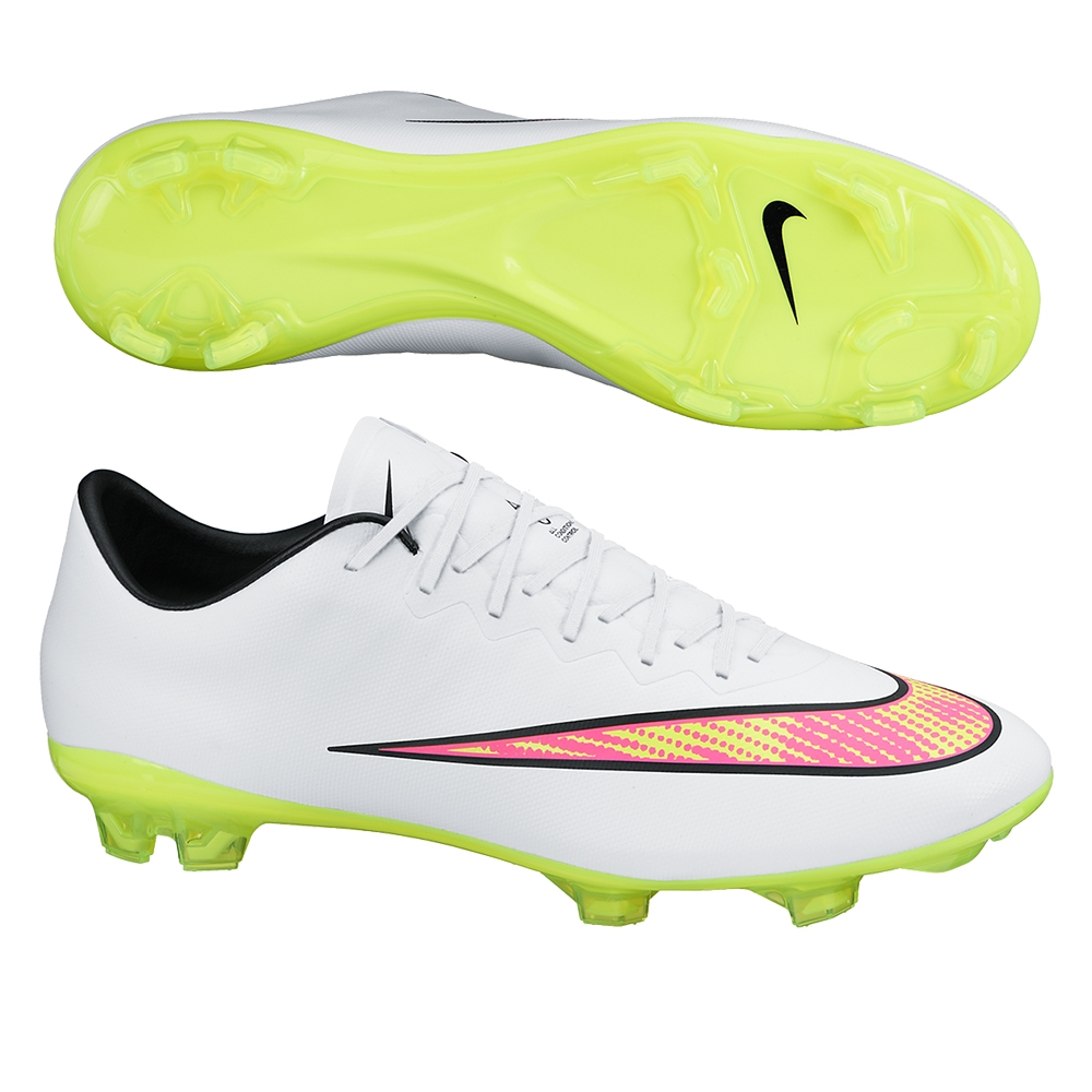 Nike Boys Mercurial Vapor Ix Fg Low Soccer Cleats Nike Mercurial ... e2e8618057