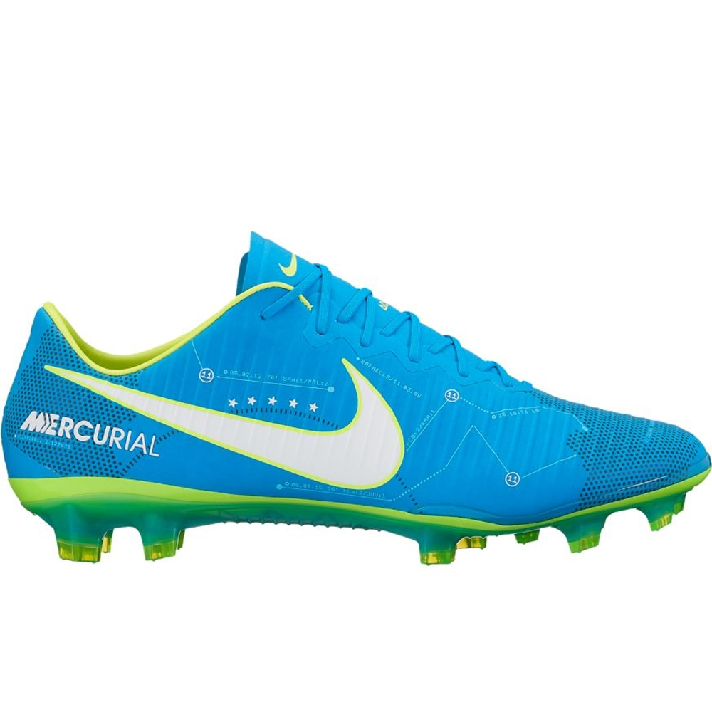 soccer cleats nike nike mercurial vapor xi fg neymar soccer cleats (blue orbit/white/armory  navy CAGWYSS