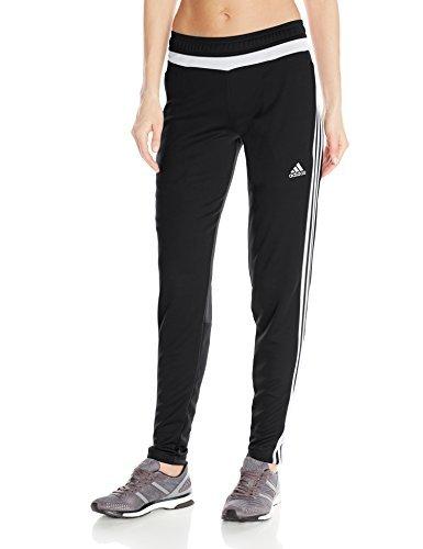 soccer pants adidas performance womenu0027s tiro training pant, small, black/white/black VPEVIYW