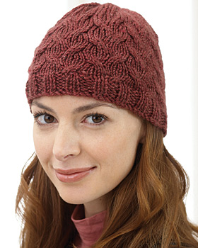 soft cable knit hat RVIRUEA