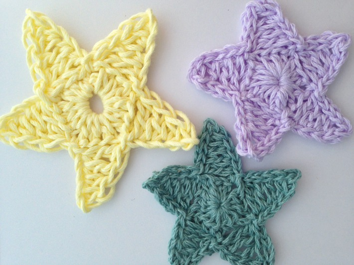 Get five star with star crochet pattern