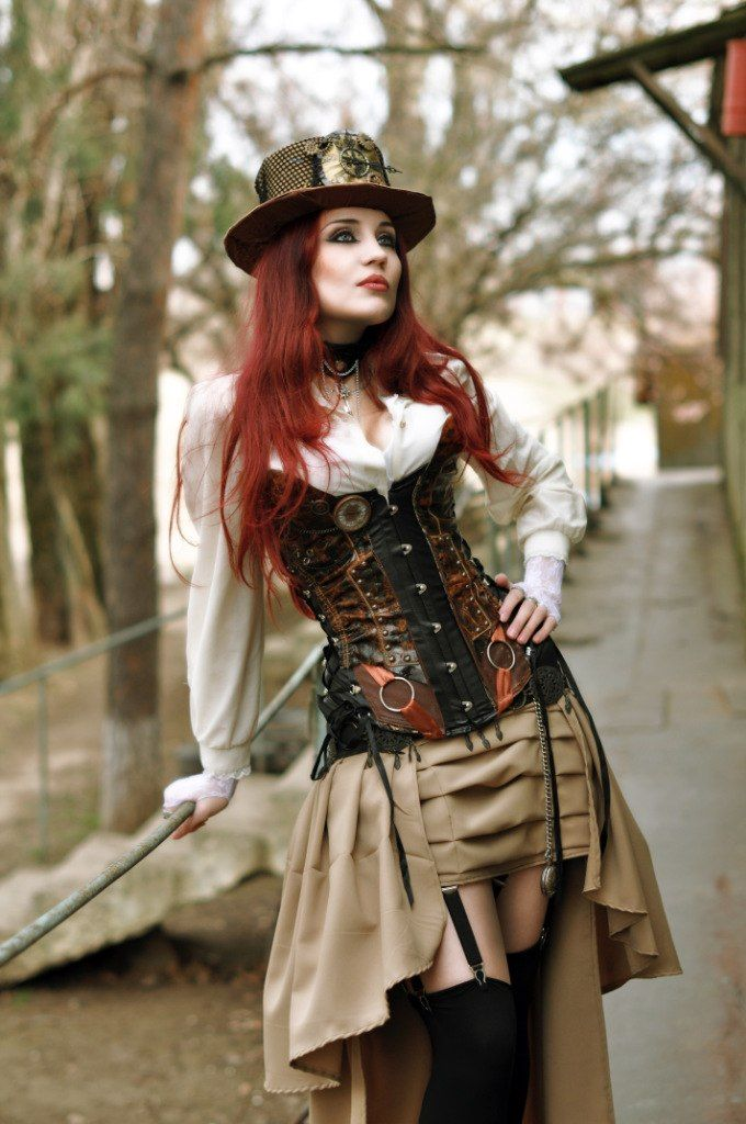 steampunk fashion j.dee #steampunk ☮k☮ HQUYPUD