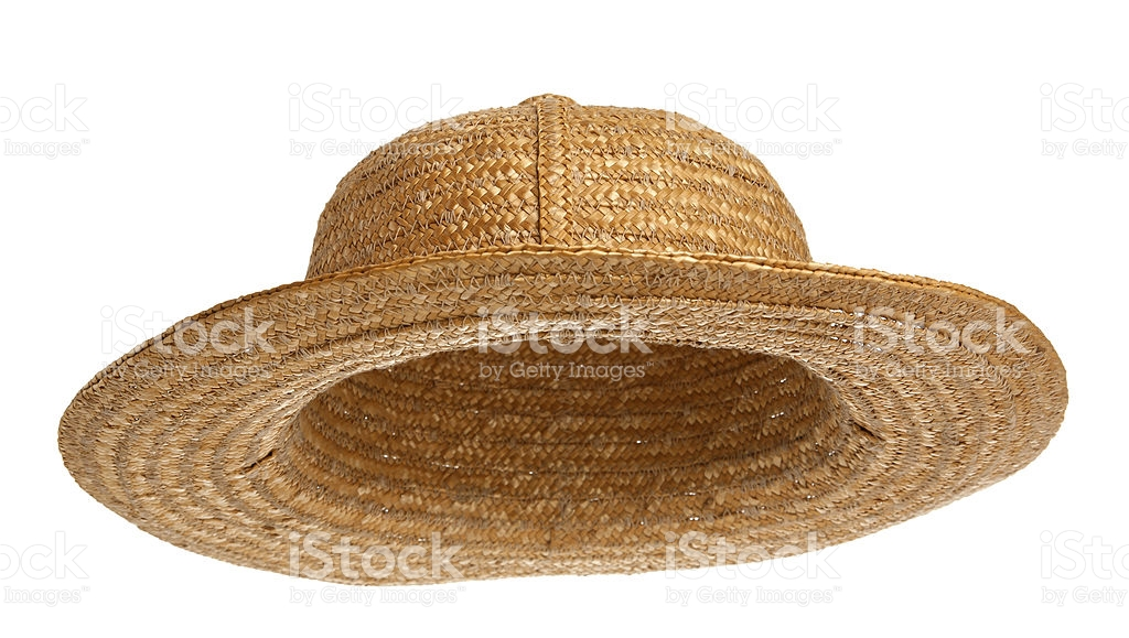 straw hat stock photo NGIVESC