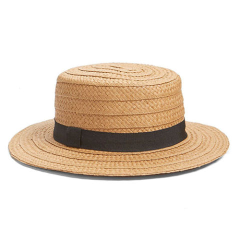 summer hats hinge straw boater hat NLFOJKG