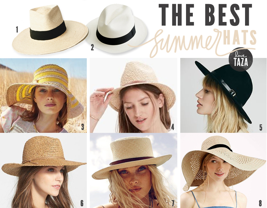 summer hats love-taza-best-hats-for-summer QZBISVF