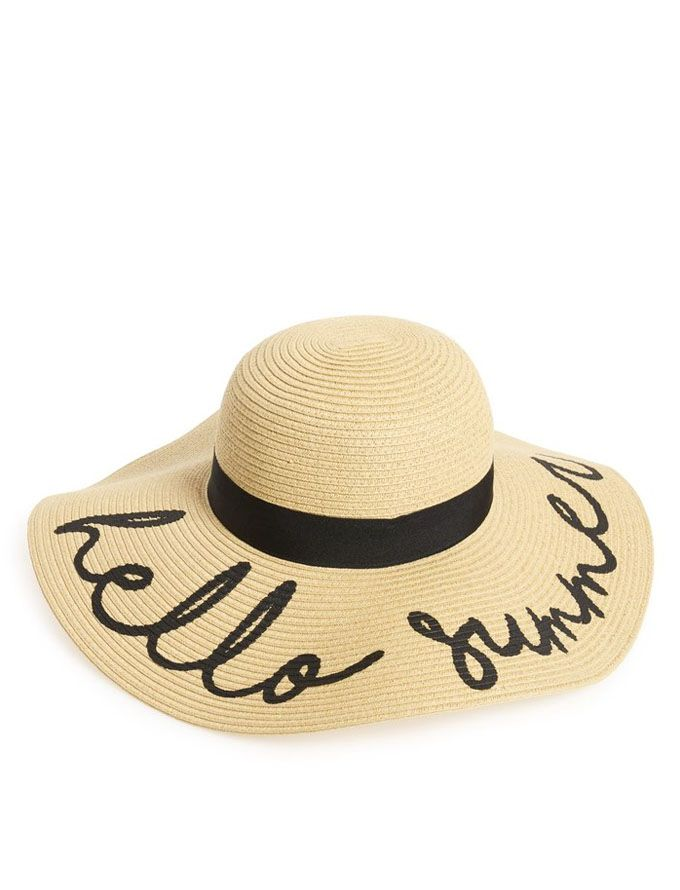 summer hats monday must haves: super-cute hat picks QJCYRHC