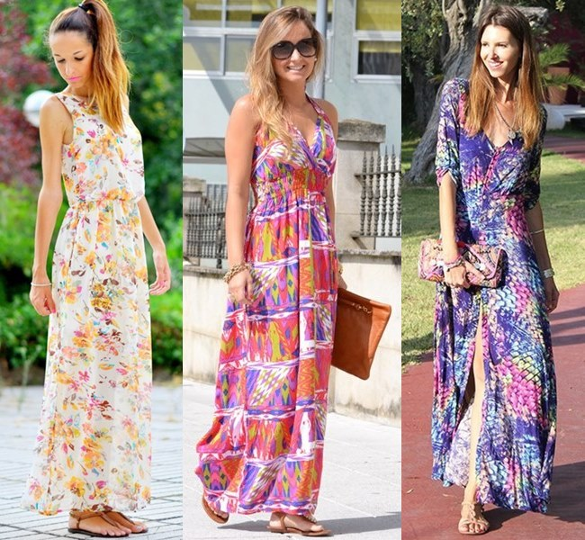 Maxis and Floral Dresses Kill the droning Heat