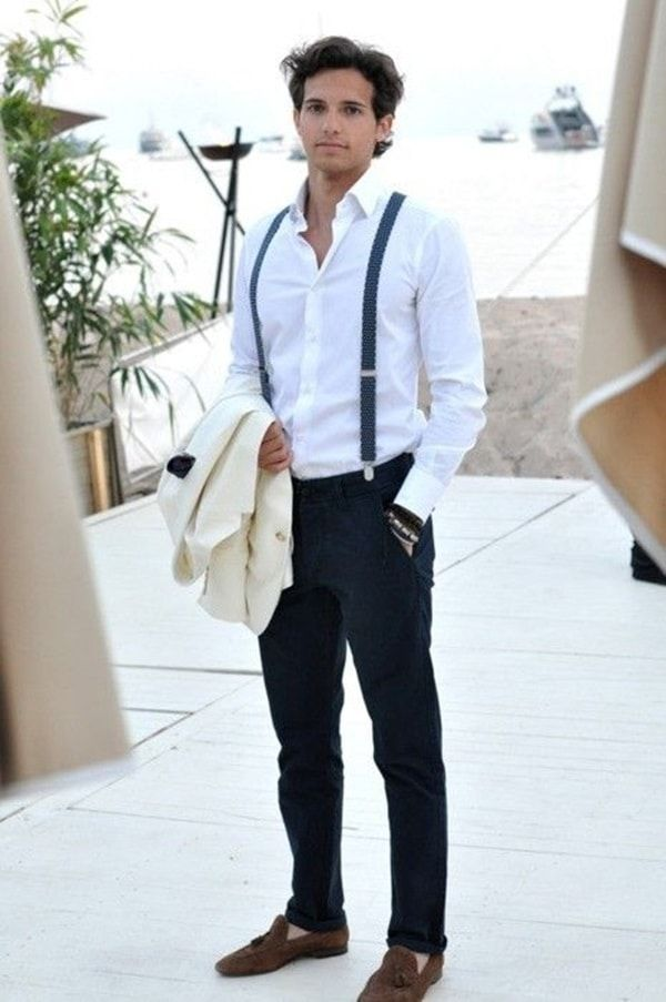 suspenders for men 40 handsome men looks with suspenders SJBZRWB