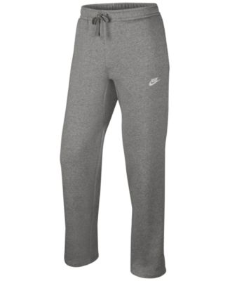 sweatpants for men nike menu0027s open-hem sweatpants XDDOQIX