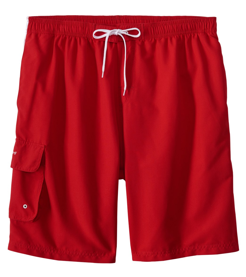 swim trunks sporti menu0027s cargo swim trunk at swimoutlet.com QCPLUBQ