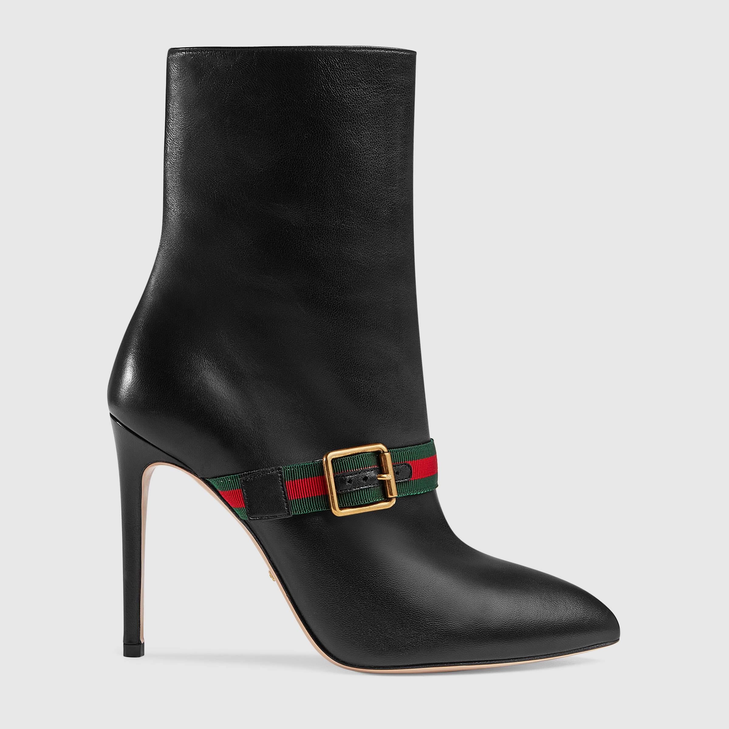 sylvie leather ankle boot DYAKSEF