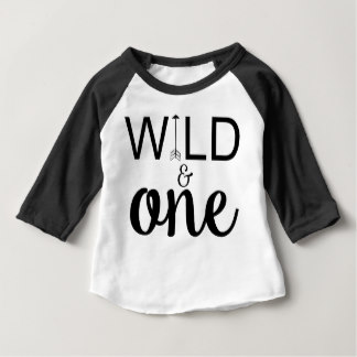 t shirt design baby shirts - wild and one arrow 1st birthday raglan shirt KOHPDXE