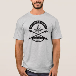 t shirt design menu0027s t-shirts - camping trip reunion shirt | dark design MZYSSVZ