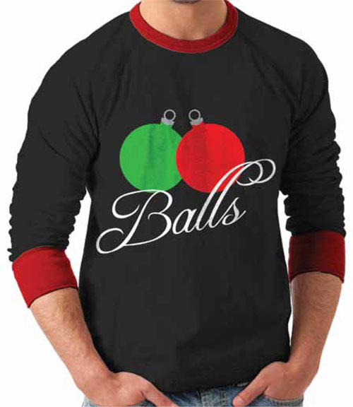 tacky christmas sweaters balls ornament ugly christmas sweater. u201c PHKMCZL