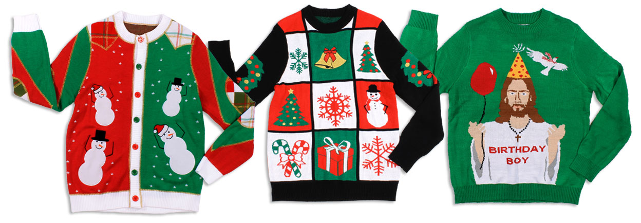 tacky christmas sweaters featured merchandise YTRKOIY