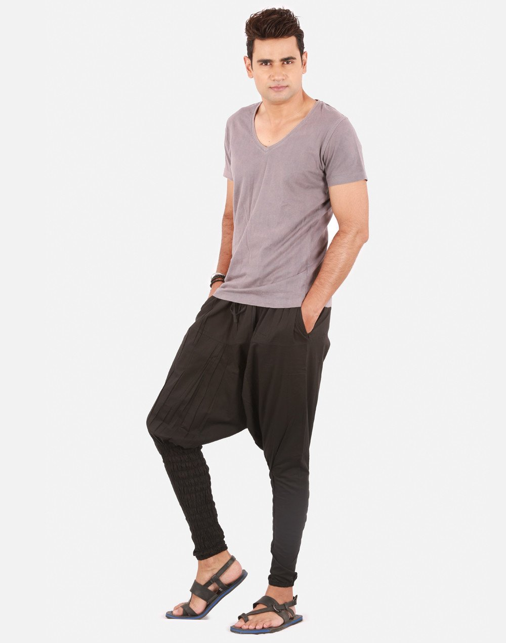 Add style and luxury to your wardrobe with mens harem pants