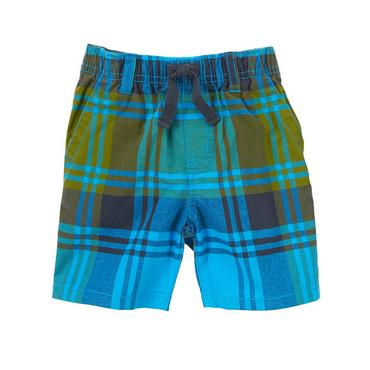 toddler boys desert teal plaid plaid shorts by gymboree XYXTMEG