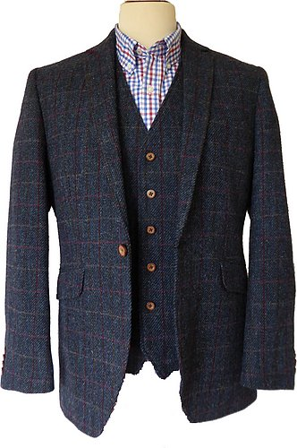 tolsta harris tweed jacket ANOXRWO