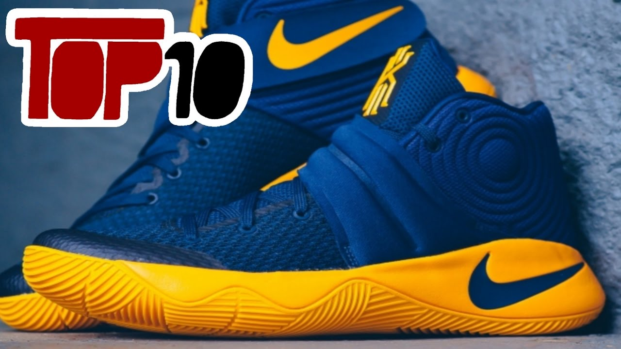 top 10 basketball shoes of 2016 - youtube PTQIKGP