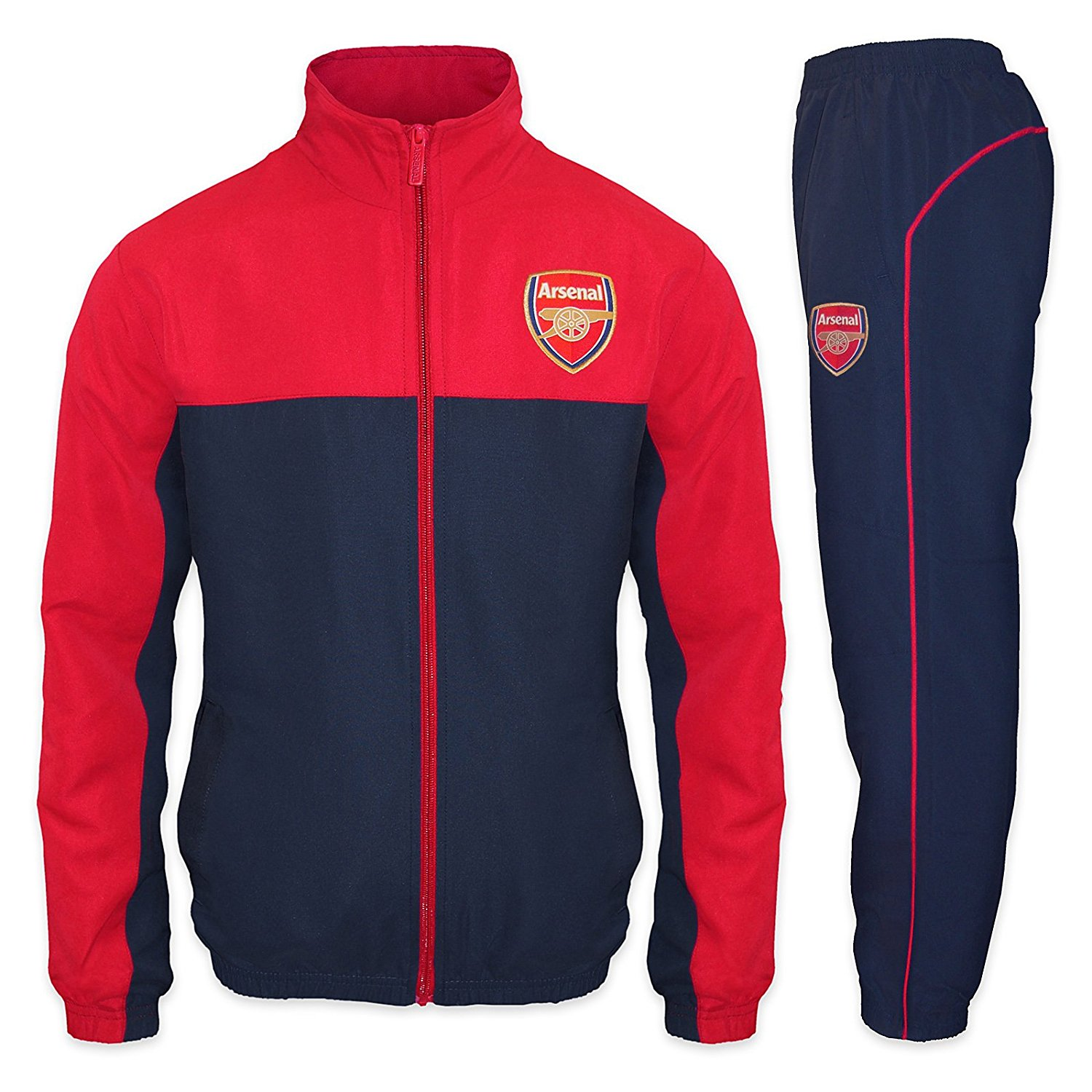 track suit arsenal football club official soccer gift mens jacket u0026 pants tracksuit set VNWYBDR