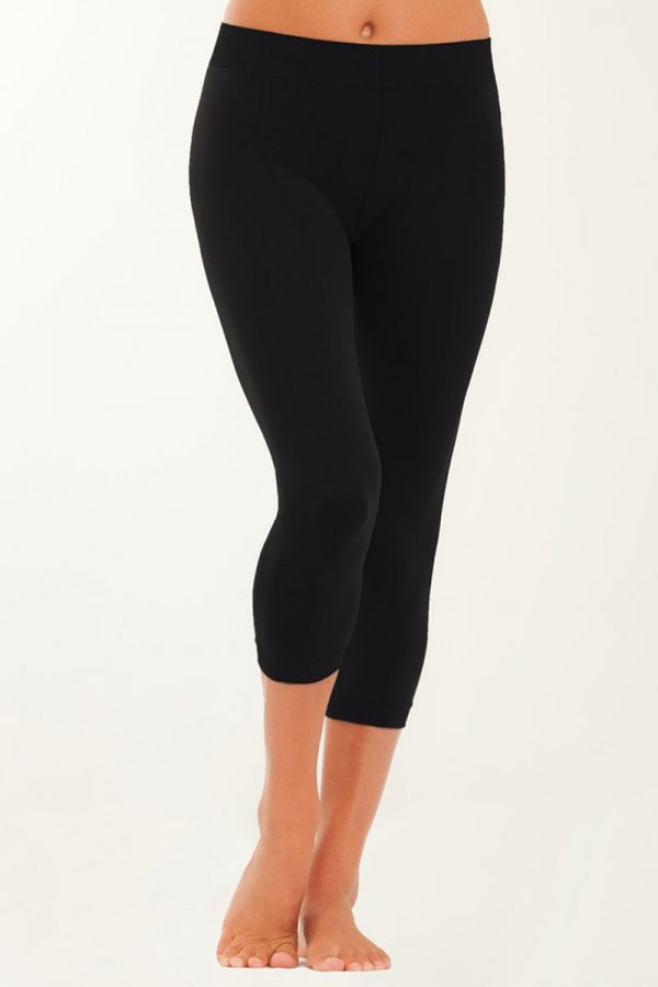 truactivewear fleece lined capri leggings IQNJFQM