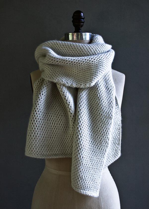 tunisian crochet scarf | purl soho WTXZWUC