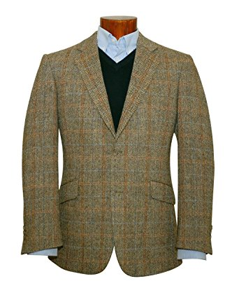 tweed jacket harris tweed hamish light-weight wool jacket (38 long) XUPGWTY