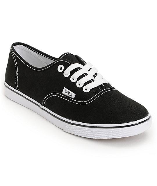 vans shoes vans authentic lo pro black shoes CBUDPYK