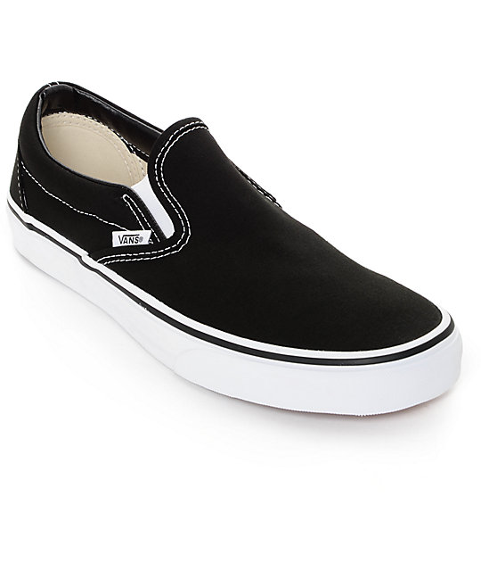 vans shoes vans classic slip on black u0026 white shoes WSNNHAR