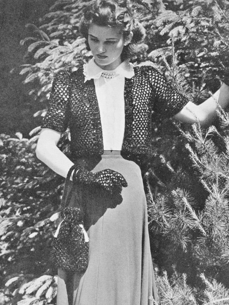 Vintage crochet shrug crochet purse pattern – lovetoknow: advice ...