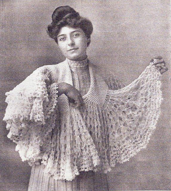 Vintage crochet shrug ravelry: a circular shawl pattern by j u0026 j baldwin KGKBJZS