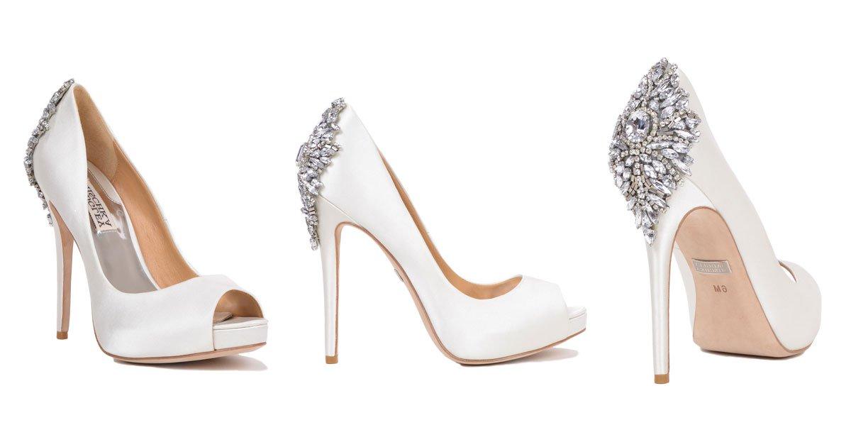 wedding heels wedding shoes from designer badgley mischka ZLQVHGD
