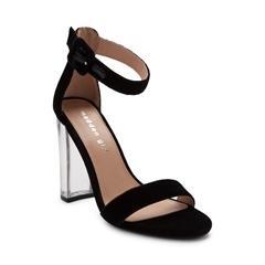 wedges heels only at journeys womens madden girl cadee velvet heel ALMOFOV