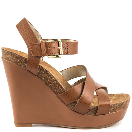 wedges heels sam edelman nelson - saddle leather GLERSVP