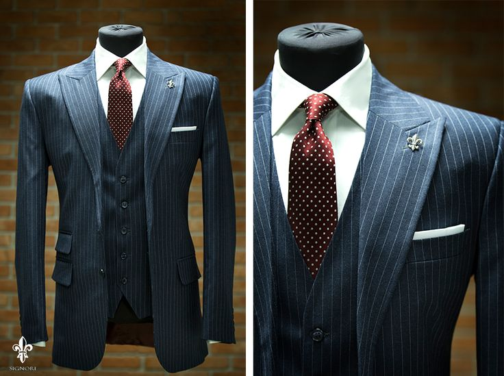 when it comes to the pinstripe suit, things are no longer business as usual. PWOPKVH