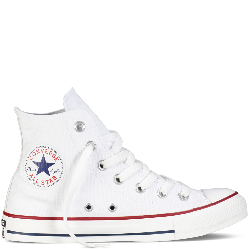 white high top converse chuck taylor all star classic colours optical white optical white OKRCAKU