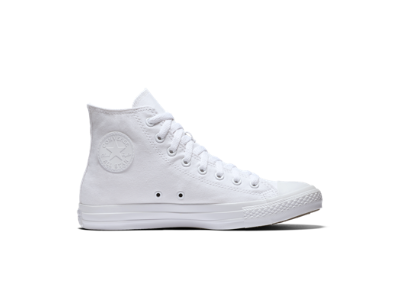 white high top converse converse chuck taylor monochrome high top unisex shoe. nike.com YJUFGKQ