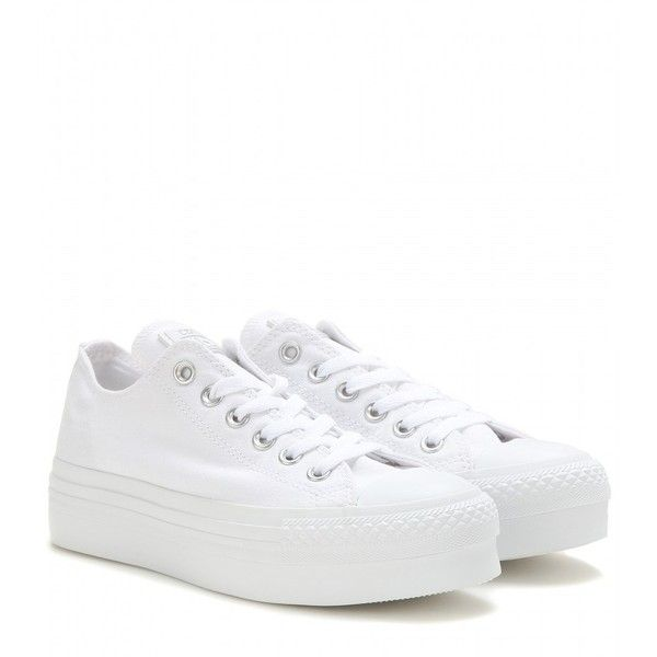 white platform sneakers up your urban credibility in a pair of converse platform sneakers. the  fresh white JWALSSB