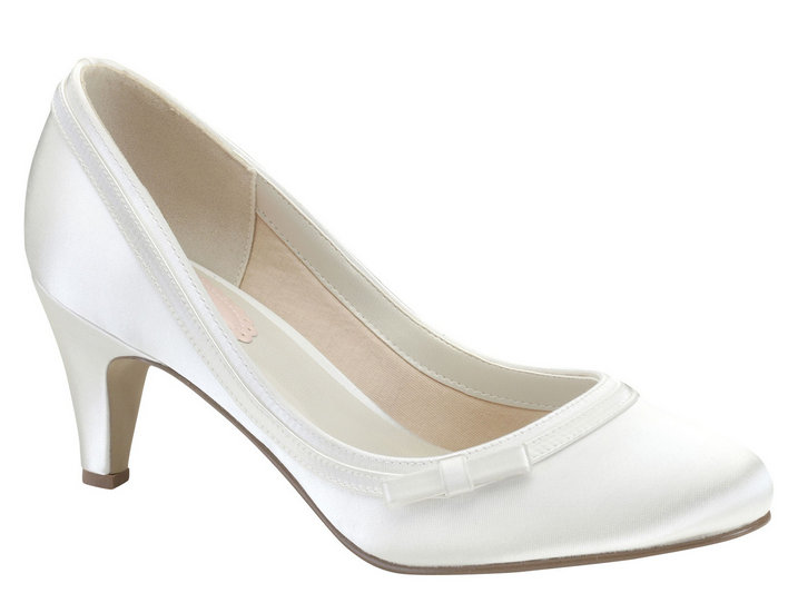 white wedding shoes white pink dahlia bridal shoes FOAMKHE