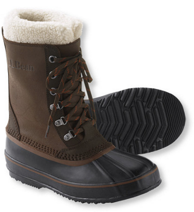 winter boots for men classic ll bean root beer brown winter boots - buy it here for $129 ZAXSECE