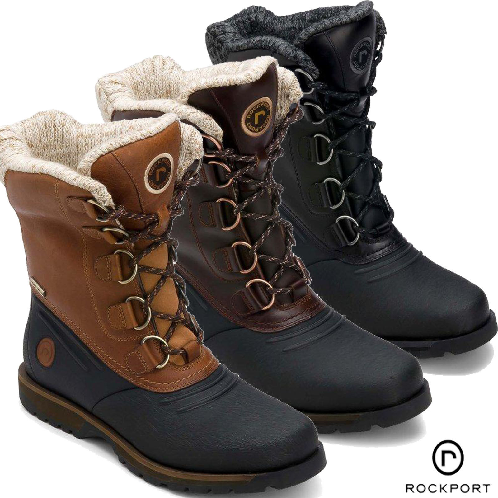 winter boots for men mens winter snow boots uk EJINZJU