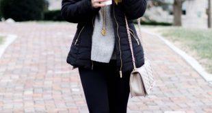 winter outfits cute winter puffer jacket! CWJDTXC