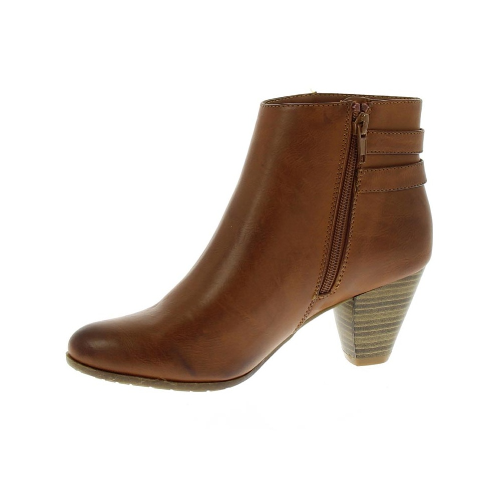 women brown ankle boots NHFYIOA